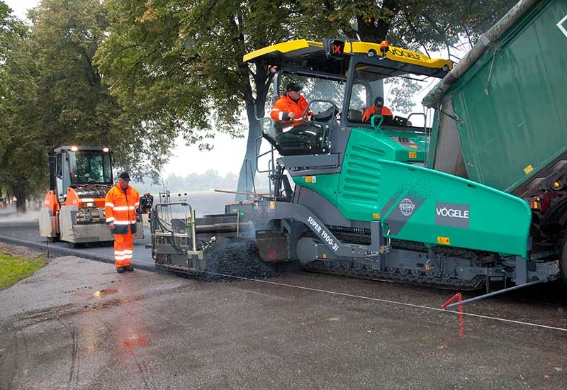 Two of the new pavers will be exhibited at bauma in Munich