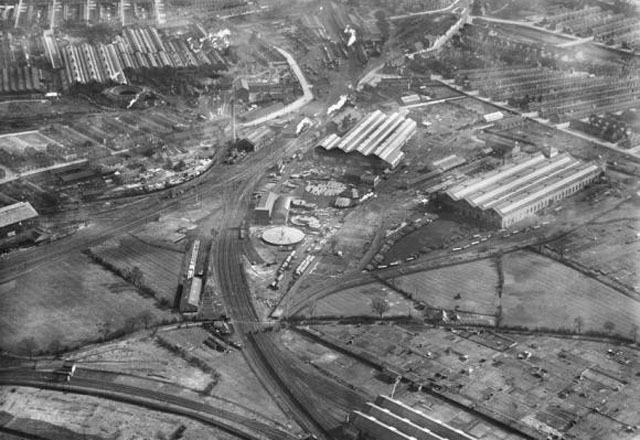A picture of the Whessoe foundry in Darlington in 1930, but part of the 200 year history of the firm