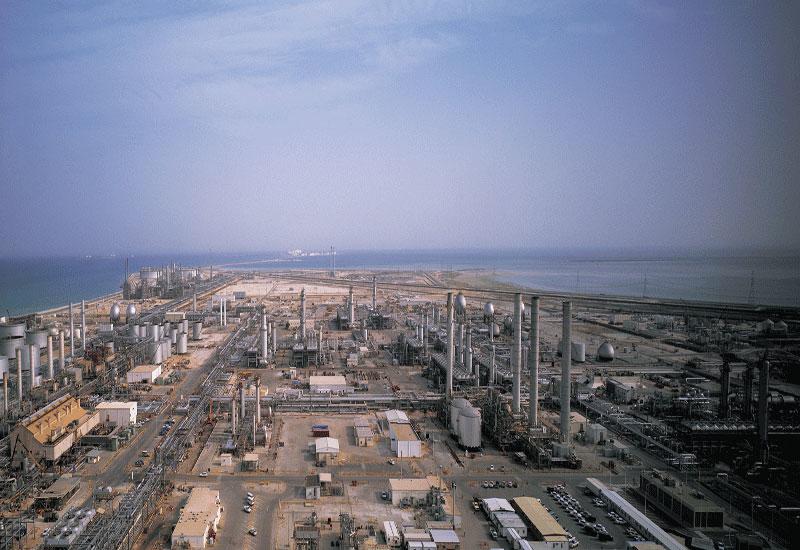 The Luberef refinery at Yanbu, Saudi Arabia.