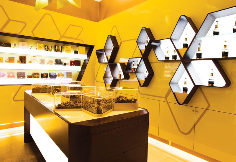 Ajmal Perfumes' flagship Burjuman Centre store.