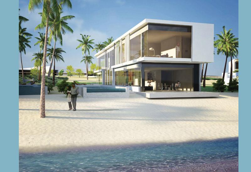DXB.lab, Project:  Private villa, (Beach sunset villa) UAE