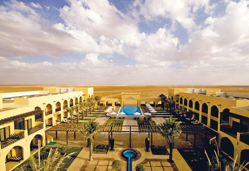 DSA Architects International,  Project:  Tilal Liwa Hotel, Abu Dhabi, UAE.