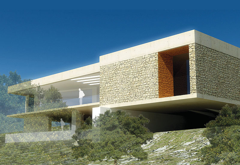 Draw Link Group,  Project:  Dougga Centre, Tunisia