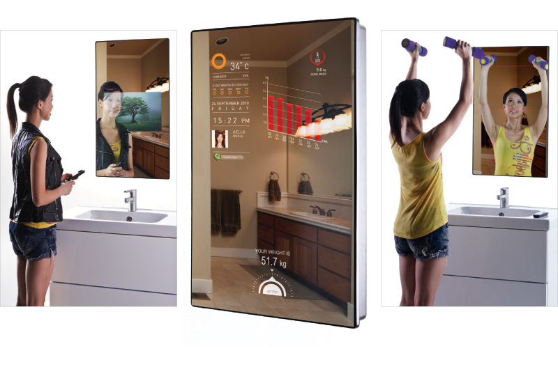 Law's intelligent mirror helps its owners keep fit,