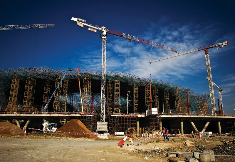 Abu Dhabi construction aims to be a benchmark for sustainability.