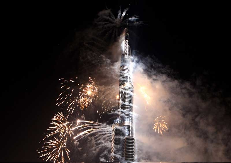 Depa was responsoble for the Burj Khalifa fit-out. Photo: Getty