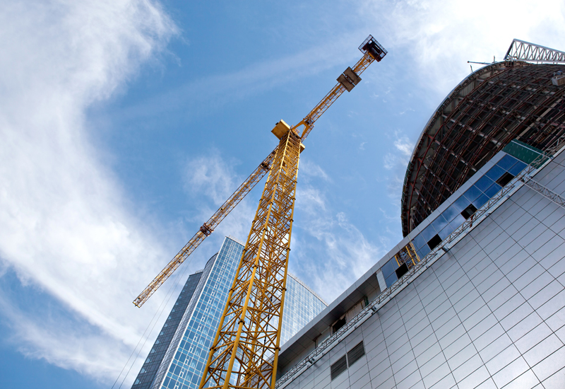 Tower cranes should be regularly inspected.