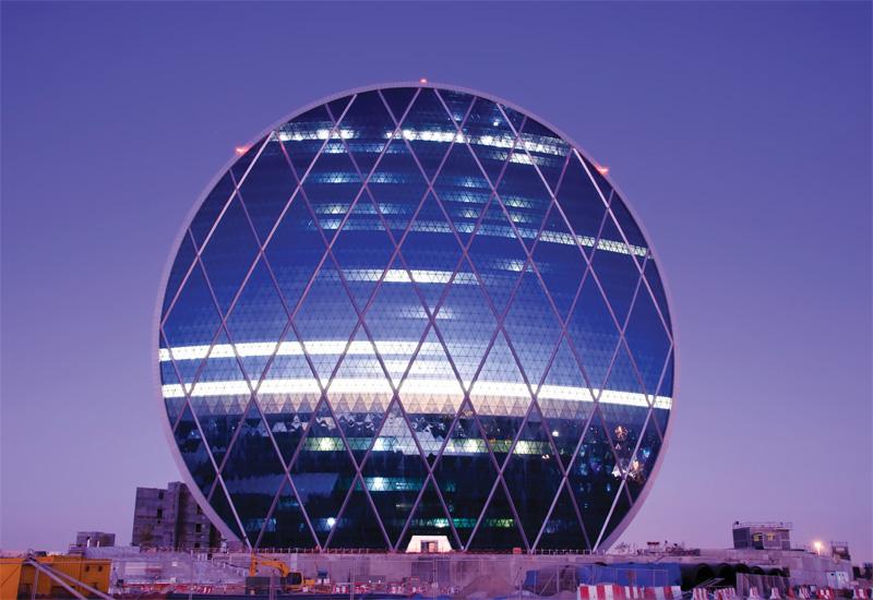 The facade of Aldar Properties' headquarters building in Abu Dhabi was the work of Permasteelisa Group