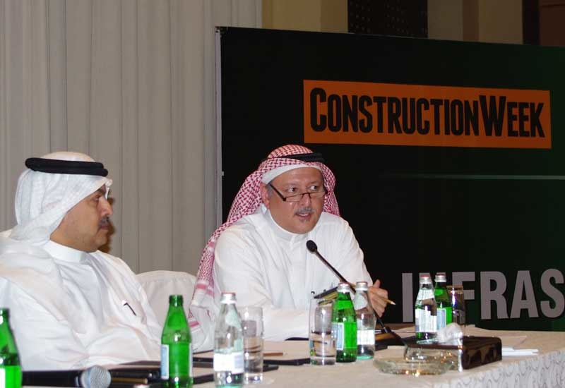 Talal Samarkandi, CEO, Architectural Lines Consulting Office, spoke at the conference.