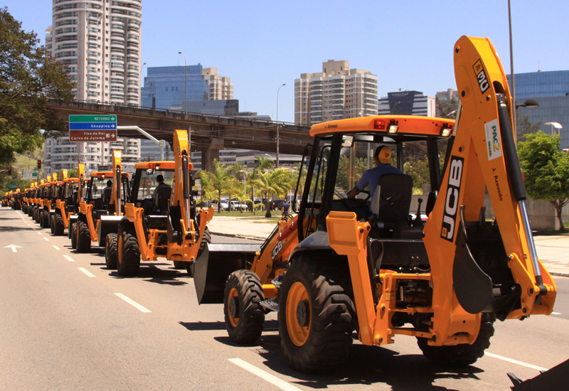 JCB's latest order follows on from a similar-sized order in 2012.