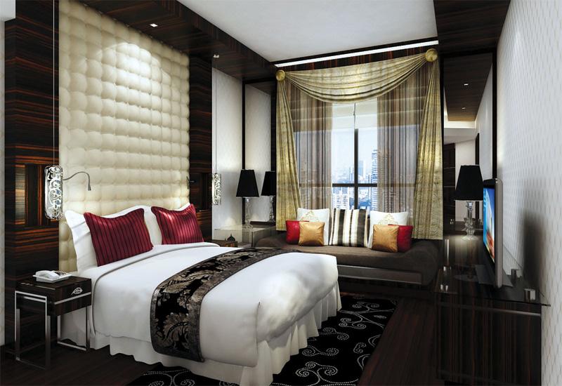 A Sofitel Prestige Suite bedroom.