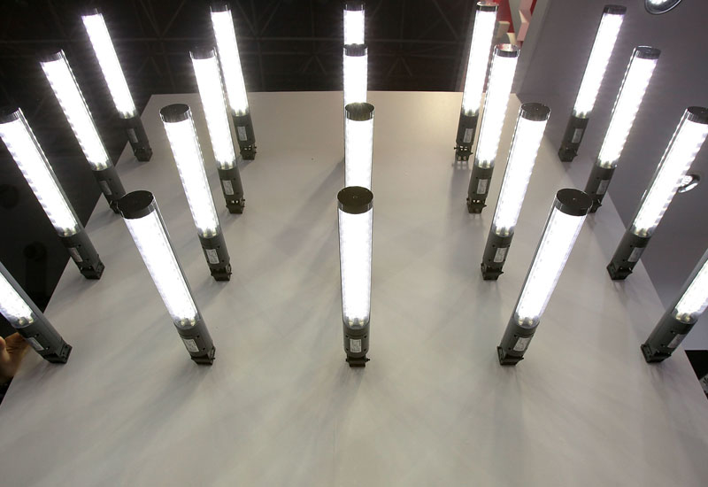 It is hoped the factory will be producing LED lighting systems by 2014