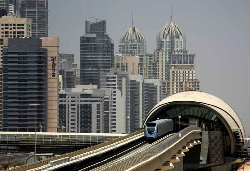 The Dubai Metro opened in 2009 and attracted thousands of passengers per day.