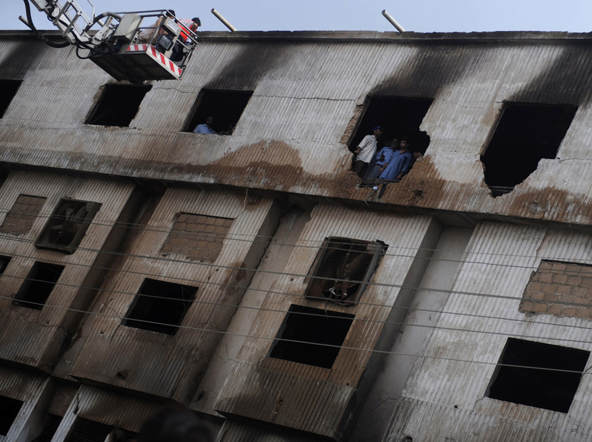 The fire at the textile factory in Karachi was Pakistan?s worst industrial accident, according to officials