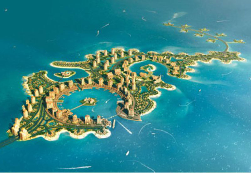 Pearl Qatar could be the most ambitious island projects in the Gulf.
