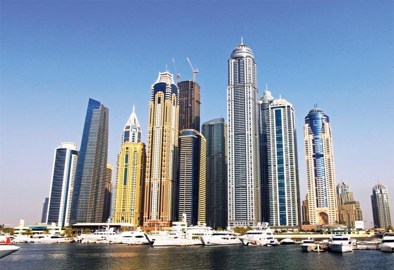 Taller than the rest Dominating the Dubai Marina skyline.