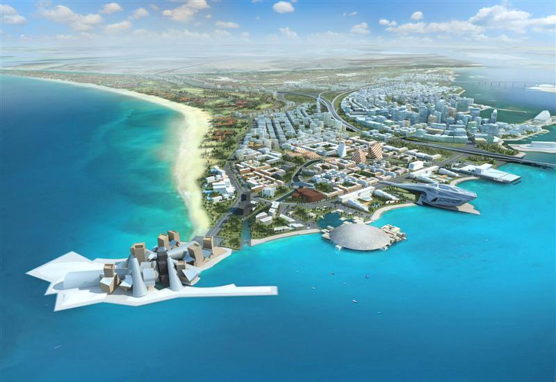 The 50,000TR Saadiyat Island district cooling project is one of the largest in the Middle East.