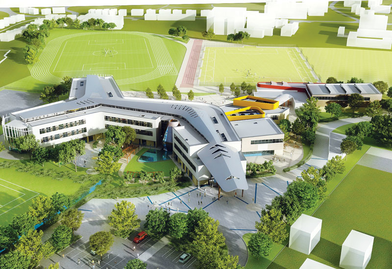 Modern British schools have been an inspiration to planners in the UAE.