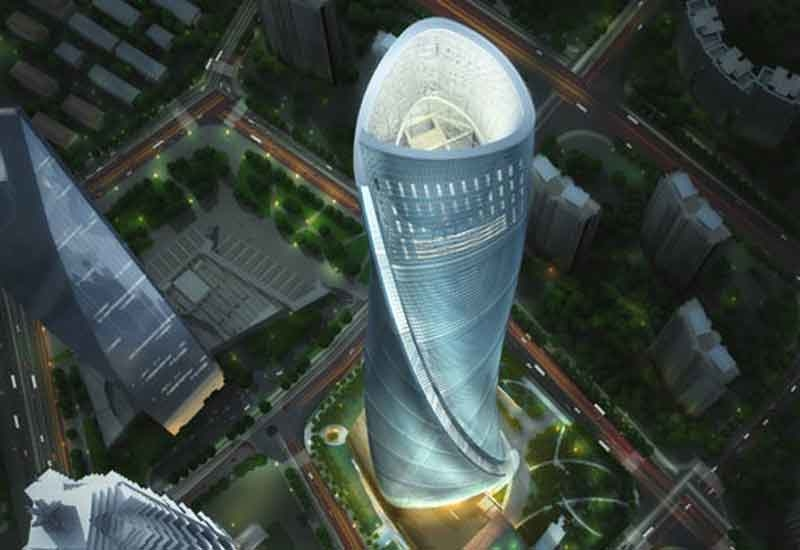 The Shanghai Tower will completed in 2012