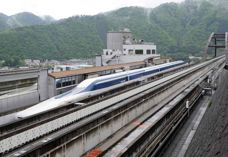 China and Japan (pictured) both have maglev trains.