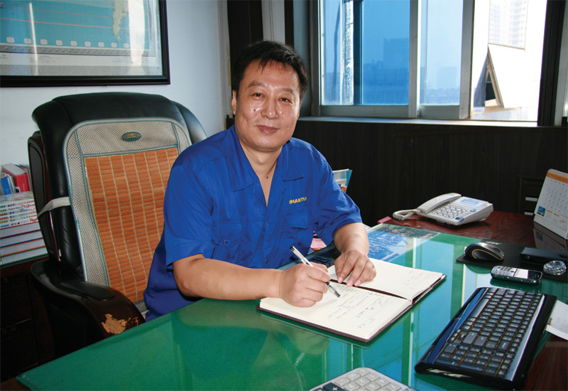 Wang Feng says that Shantui can now offer value and service to the Middle East.