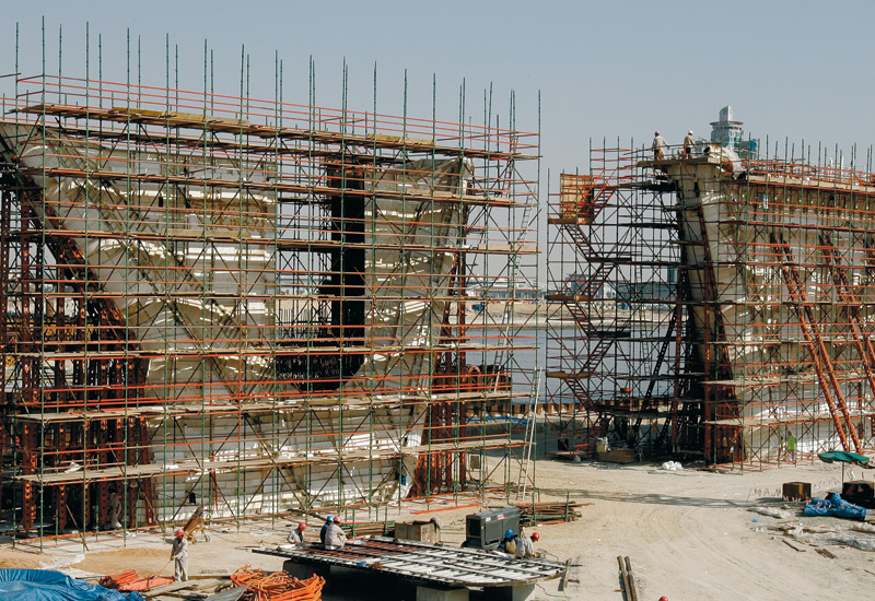 Scaffolding is central to the safe construction of most major building projects.