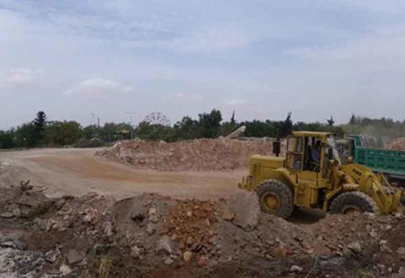 Excavation works on site are expected to last six months.