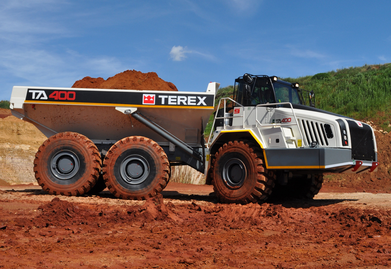 MEDCO will offer in total eight different Terex truck models.