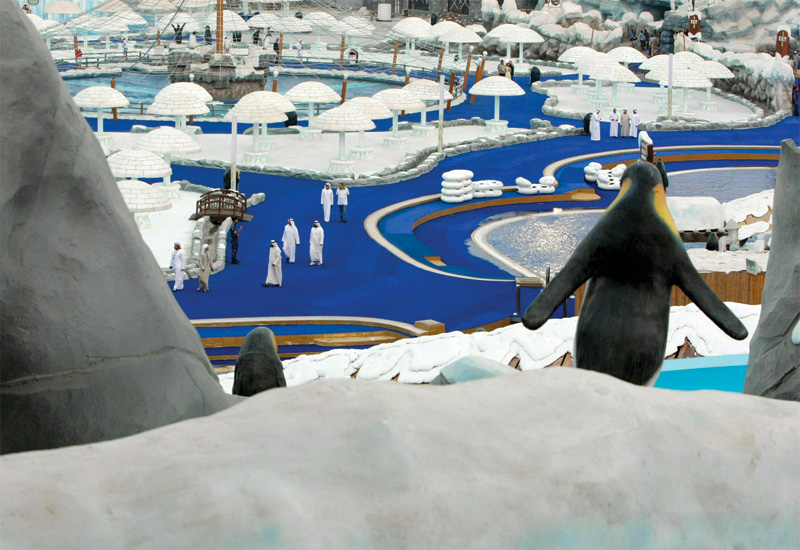 The Ice Land Water Park in Ras Al Khaimah,  which opened last year, is the biggest theme park in the region.