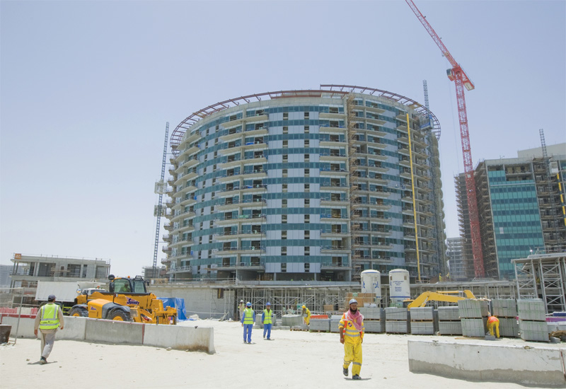 Aldar's financial health is reflected in its ongoing developments like Al Muneera at Al Raha Beach.