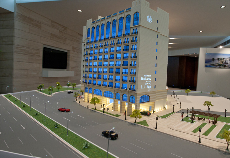 The Yasmeen Rotana is a five-star hotel in Syria.