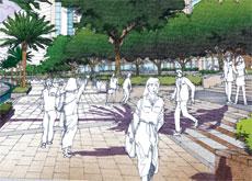 A range of public spaces is important.