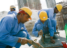 DEFENDING: Worker rights in the UAE are being taken seriously