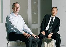 P&T co-directors William Yuen (right) and James Abbott (left).