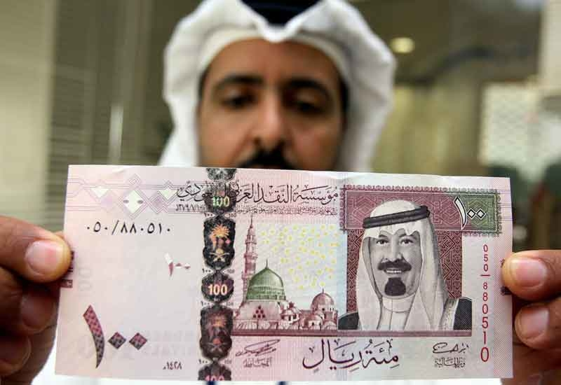 Saudi Arabia has announced a record busting budget (HASSAN AMMAR/AFP/Getty Images).