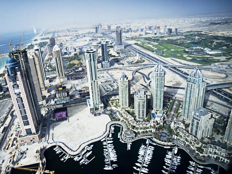 Construction and real estate transactions helped Dubai's GPD increase by more than 2% last year.
