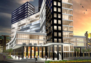 CSCEC have picked up the construction contract for The Gemini Tower