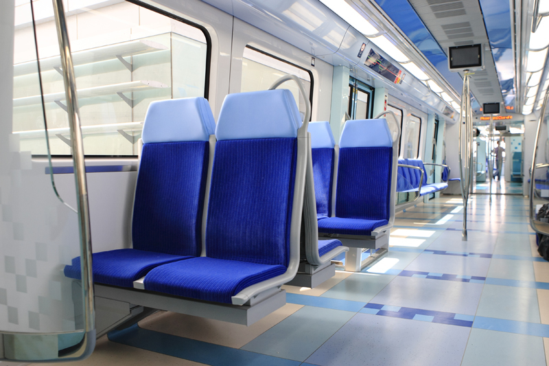 """Revolutionary product reduces Dubai Metro cleaning frequency"" [representational image]"