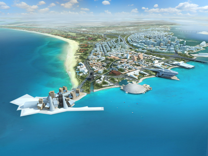 Al Jaber has been contracted to build villas on Saadiyat Island