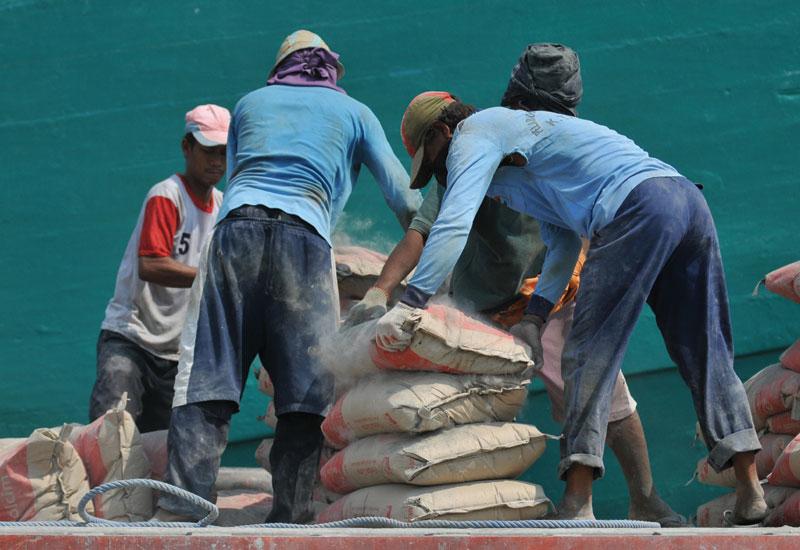 Arabian cement company is based in jeddah, saudi Arabia. (BAY ISMOYO/AFP/Getty Images)