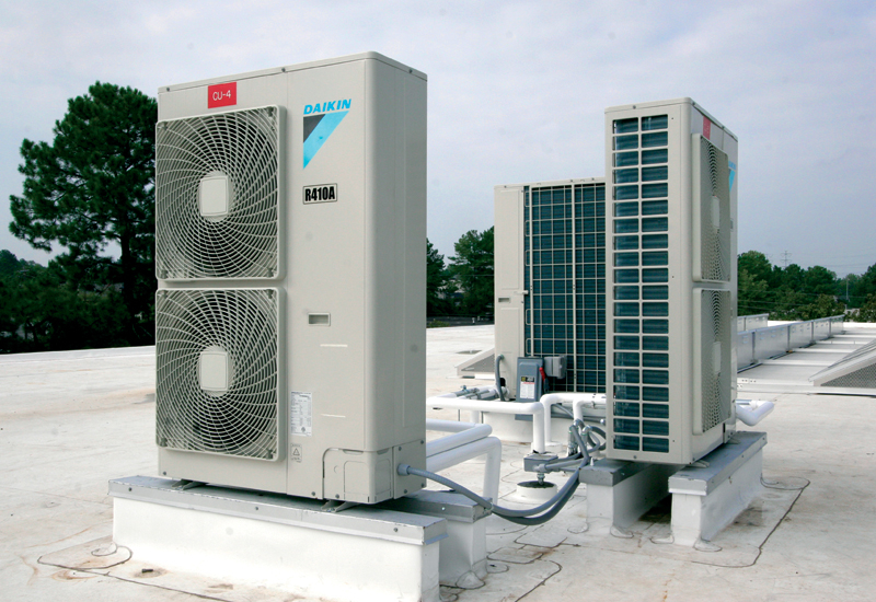 Refrigerants with low ozone depletion were selected