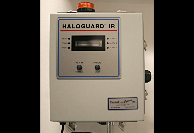 Refrigerant leak detection system