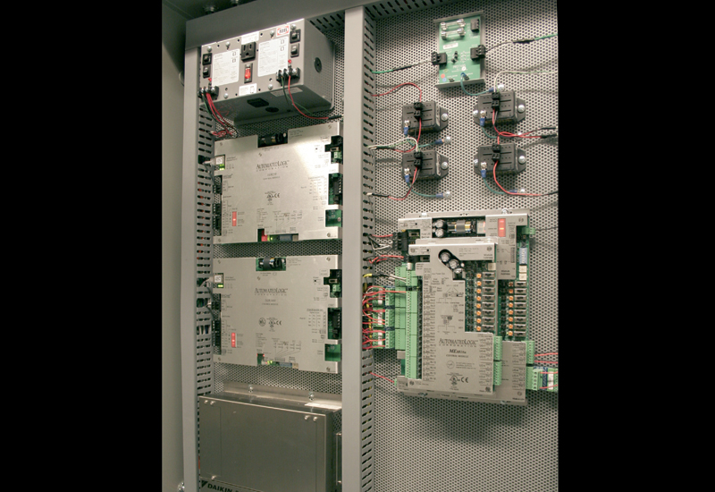 The building automation system