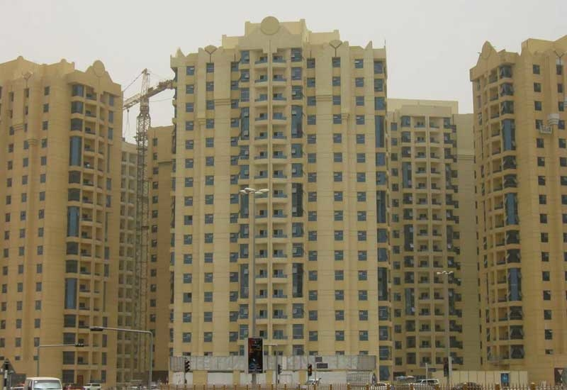 REIE's Al Khor Towers project in Ajman.