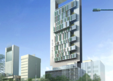 The 180 metre tower will cover an area of 56