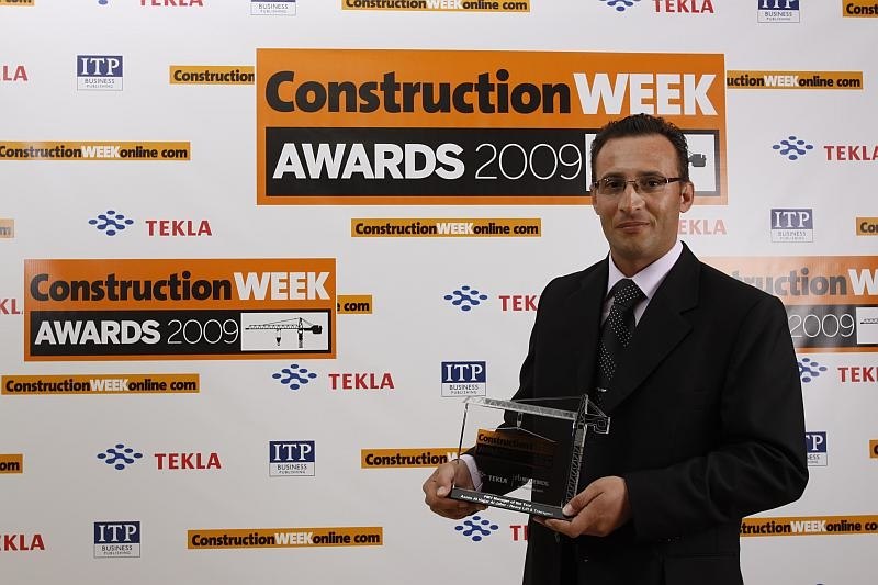 Al Jaber Heavy Lift and Equipment's Assim Hajjar has won the Construction Week award for PMV Manager of the year