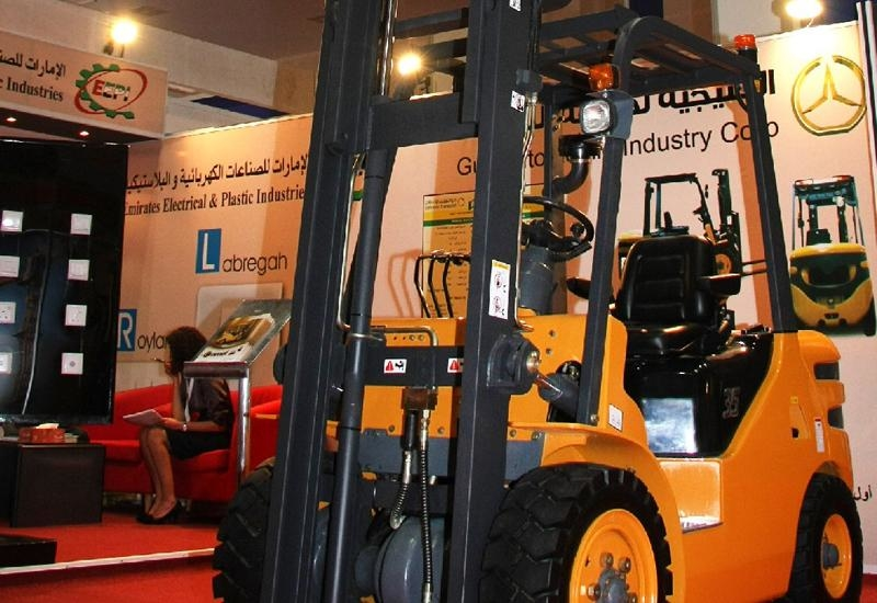 The Camel is the first forklift to come from the Arab world