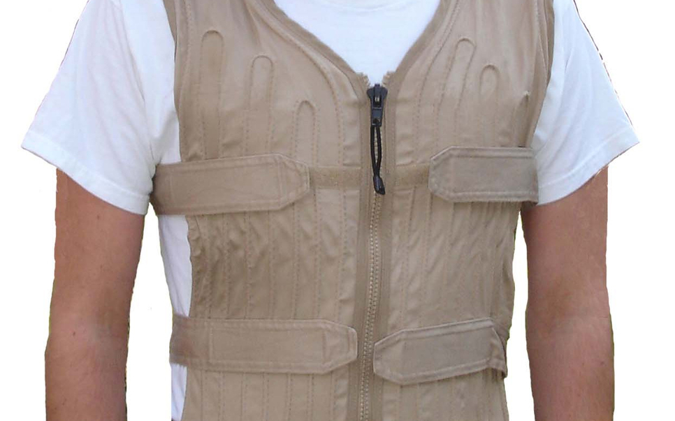 An example of a cooling vest