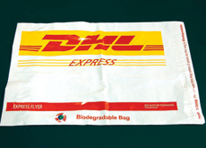 The new bags will only take two years to degrade compared to normal bags that take 1