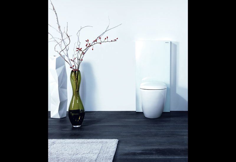 Geberit has launched its Monolith collection.